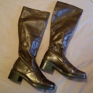 Rieker brown knee high boots